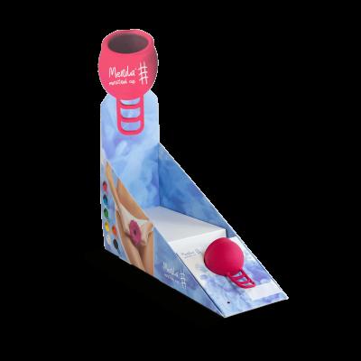 Theken-Verkaufsdisplay / HV-Aufsteller Merula Cup